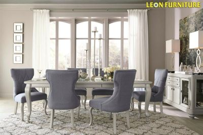 Buy Coralayne D650 Table and 6 Chairs | Leon Furniture Store