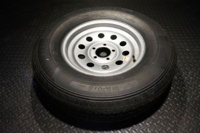 Sell 15 Trailer Tire and Wheel - 225 75 R15 - 10 ply - TrailQuest motorcycle in Madisonville, Texas, United States, for US $99.99