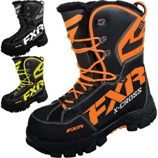 Sell FXR Racing X Cross Mens Snowboard Skiing Sled Snowmobile Boots motorcycle in Manitowoc, Wisconsin, United States, for US $169.99
