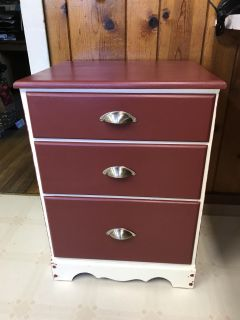 Side table for kitchen