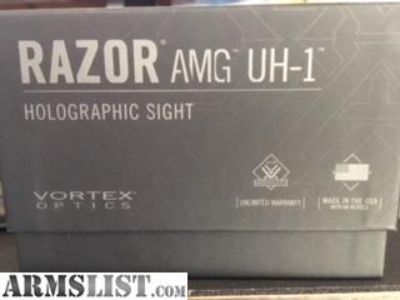 For Sale: Vortex Razor AMG UH-1 RED DOT SITE