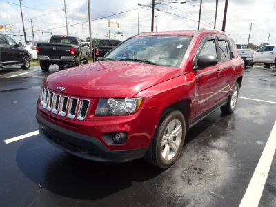 2016 Jeep Compass Sport (Red)