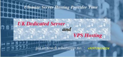 UK VPS Server Hosting with latest Technology