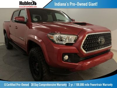 2018 Toyota Tacoma TRD Sport Double Cab 5' Bed V6 (red)