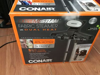 Conair extremesteam upright fabric steamer