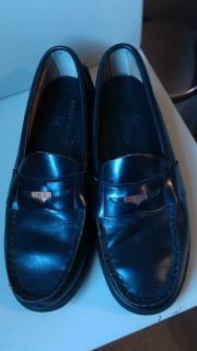 Nordstrom leather penny loafers