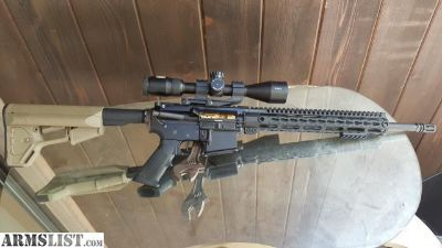For Sale: customized AR-15 for sale