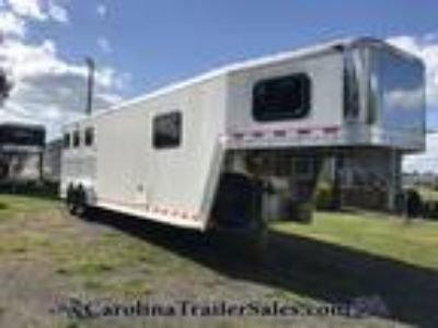 2001 Kiefer 3H FULL 10' LQ with ALL Real Wood! 3 horses