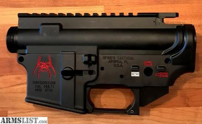 For Sale: Spikes Tactical AR15 Lower and Upper Receiver