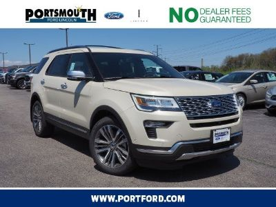 2018 Ford Explorer Platinum (Platinum Dune Metallic Tri-Coat)