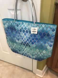 Brand new with tags mermaid scale tote