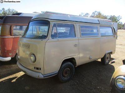 1971 VW Bus Pop Top Camper Project