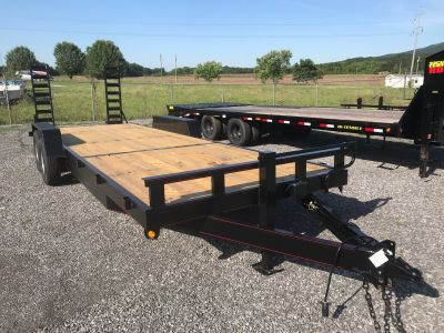 "2019 P&T Trailer 82""x24' Equipment Trailer Equipment Trailer Leesburg, AL"