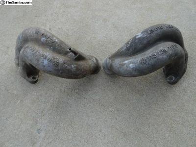 Volkswagen Beetle Dual Port Manifold Ends