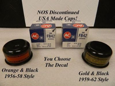Buy NOS Delco Vented Breather Cap Black 1955-62 Corvette 64-67 Chevelle Camaro motorcycle in Shingle Springs, California, United States, for US $69.95