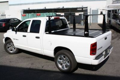 Purchase BAK Industries 26311BT BAKFlip CS Folding Tonneau Cover w/ Ladder Rack Kit motorcycle in Wyoming, Michigan, United States, for US $1,599.88