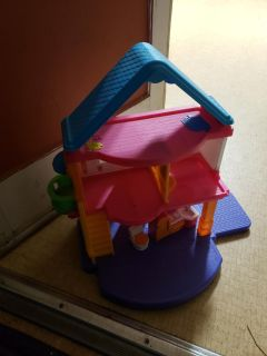 Fisher price doll toddler size house