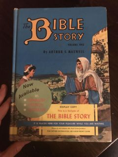 Old bible story book