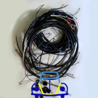 Ghia Deluxe Wiring Harness, 60