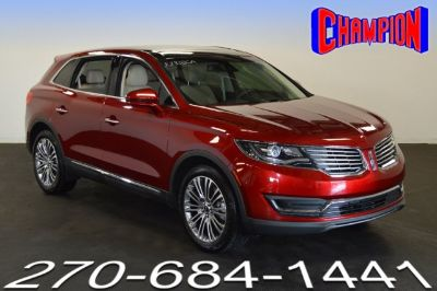 2016 Lincoln MKX (Ruby Red Metallic Tinted Clearcoat)
