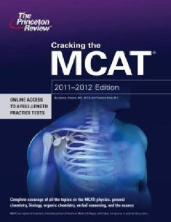 $15 OBO Cracking the MCAT, 2011-2012 Edition by Princeton Review Staff (2011, Paperback)