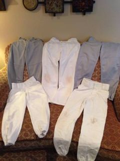 5 Pair Baseball Pants Youth Medium
