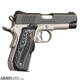For Sale: Kimber 9mm Master Carry Pro. no taxes, no credit card fees, free shipping