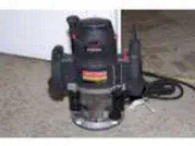 Craftsman amp Plunge Router (Lemmon Valley)