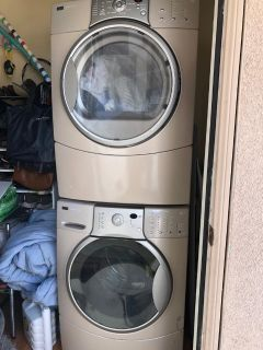 Washer and Dryer Kenmore Elite