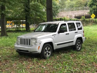 2008 Jeep Liberty Sport (Bright Silver Metallic)