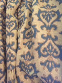 Pair of Custom Linen Draperies from set of HBO series Boardwalk Empire