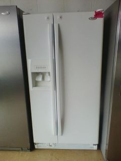 Whirlpool side by side refrigerator