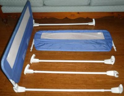 Set of 2 The First Years Child Safety Bed Rail / Guard