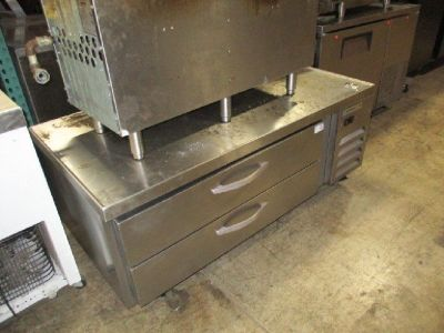 "Beverage Air 60"" Worktop Cookstand Freezer RTR# 8111903-08"