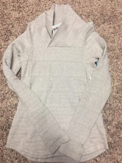 Skyr athletic taupe pullover soft and I paid 39.99 with tags still on