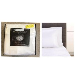 Hotel Style Egyptian Cotton 1,000 Thread Count Bedding Sheet Collection