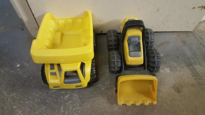 Little Tikes Dump Truck and Digger