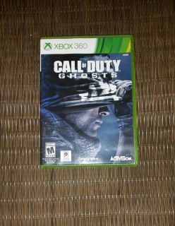 X BOX 360, Call of Duty Ghosts
