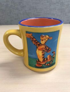 The Disney Store Tigger Winnie the Pooh Collectible Coffee Tea Mug Cup