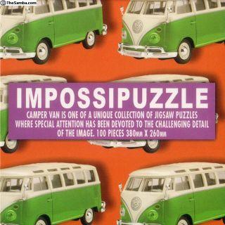 Camper Van Impossipuzzle Cube Puzzle