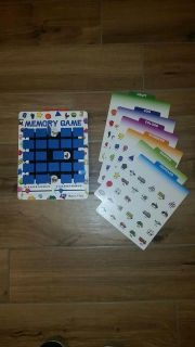 Wooden Melissa & Doug Memory game. Perfect condition! Great for in the car! See additional photo.
