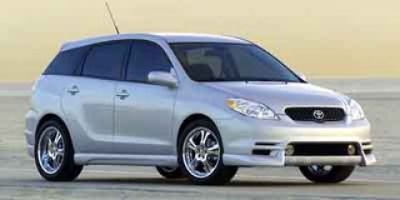 2003 Toyota Matrix XRS (BLACK)