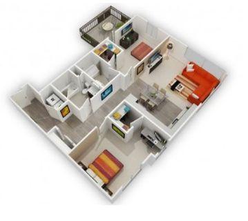 $8580 2 apartment in San Jose