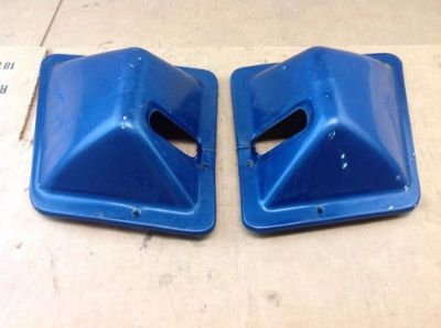 Buy 1979 Blue Ford Bronco Seat Belt Retractor Covers 78-79 Bronco 1978 motorcycle in Albany, Oregon, United States, for US $52.00