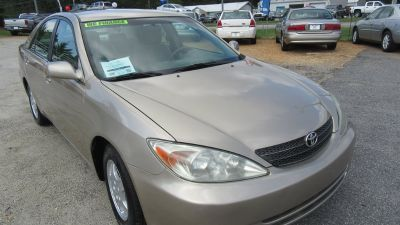 2002 Toyota Camry LE V6 (Tan)