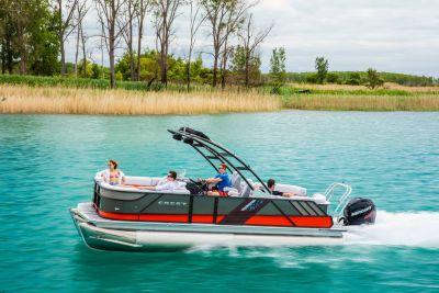 2018 Crest CALIBER 250 SLC TRI-TOON Pontoons Boats Kaukauna, WI