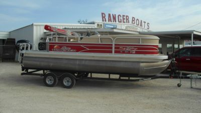2016 Sun Tracker Party Barge 20 DLX Pontoons Boats Eastland, TX