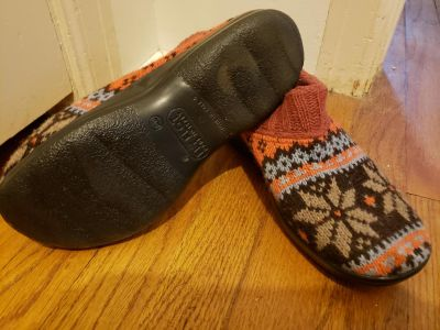 Fly Flot sweater slipper shoes