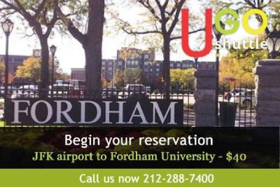 Cheapest Shuttle From JFK Airport To Fordham University