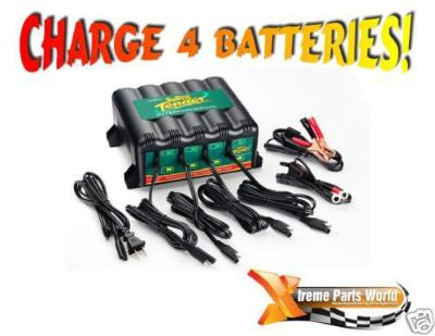 Find Battery Tender Plus 12V 4 Bank Charger/Maintainer/Trickle/Harley/Car/1.25 amps motorcycle in Atoka, Tennessee, US, for US $169.70